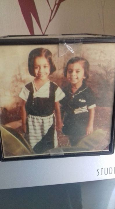 Love you a lot my Lovely sister Twisha...Luckiest to have a sis nd best friend like you...what a memory of our childhood...