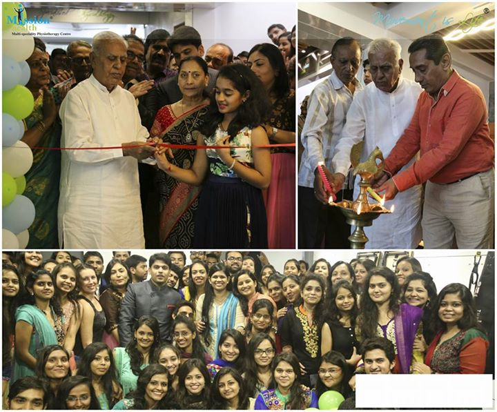 Inauguration of Mission Health chandkheda  branch with 10,000 Sq. Ft. Super Specialised Physiotherapy & Medical Gym/Fitness facilities all under 1 roof...