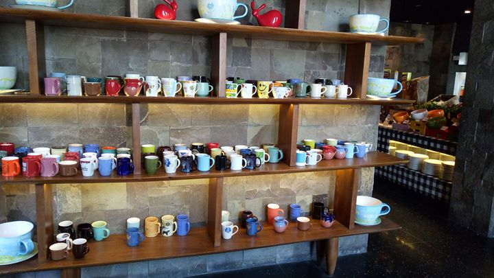 We were delighted when we entered the breakfast area & Chef asking you for choice of Cofie Mug in which you would like to have Cofie today ! # love for cofie, love for mug # Super hospitality @.W retreat Bali.
