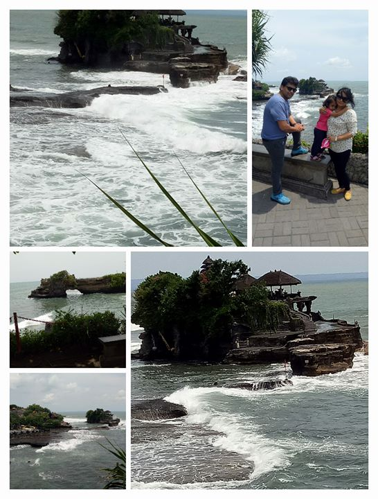 Tanha lot Temple within the ocean @ Bali.