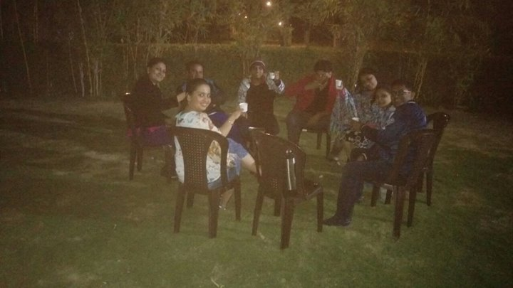 It is just wow # 1.30 night # mast thandak # chai time # friends # masti # fun # the other side...