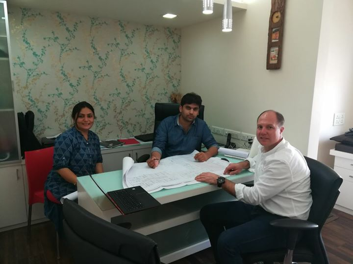 Meeting with Tom from Sydeny for Mission Health Centre Of Excellence in Physiotherapy, Fitness & Rehab Project... #MissionHealth #COE #MostAdvancedPhysioFitnessRehabFacilities #DreamProject #BrainStorming #Innovations #BestOfTheWorldWillbeInAhmedabad #Technologies #Concepts #Services #MovementIsLife