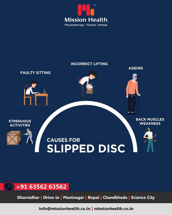 Slipped Disc is one of the most common causes of Neck and Back Pain, mostly caused due to lifestyle challenges. We at Mission Health Super Specialty Spine Clinic, have treated more than 30000 Neck Pain and Back Pain from different parts of the world  #slippeddisc #slippeddisctreatmentahmedabad #slippeddisctreatmentgujarat #slippeddisctreatmentindia #slippeddisctreatasia #no1sleepdiscedtreatmentindia #superspecialityclinicsforslippeddisc #painmanagementindia #painmanagementasia #painmanagementafrica #internationaltourism #MissionHealth #MissionHealthIndia #MovementIsLife #AbilityClinic