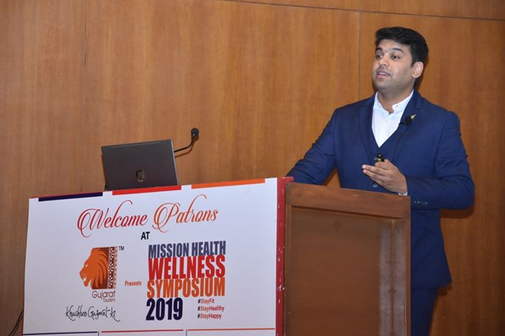 "3rd Annual event in a row, a glimpse of Mission Health Wellness Symposium 2019 - a unique event on Health & Lifestyle Management where spearheads from various walks of life shared their wisdom and knowledge. Attended by more than 700 delegates, this event is surely going to bring change in the thoughts and lifestyles of many.  Joining the dots for a healthy & happy life in this fast-moving digital era, Dr. Aalap Shah spoke about ""Balance – The Ergonomics Workshop"" for prevention of Neck Pain and Back Pain, Pujya Shri Gyanvatsal Swamiji shared his wisdom on ""Life - Lets Celebrate Our Existence"", and Dr. Anish Chandarana shared his knowledge on ""Healthy Heart"". 5,00,000+ people have been educated across the globe to date by Mission Health Team and the journey continues...  #MissionHealthWellnessSymposium2019 #MissionHealth #MissionHealthIndia #MovementIsLife #AbilityClinic"