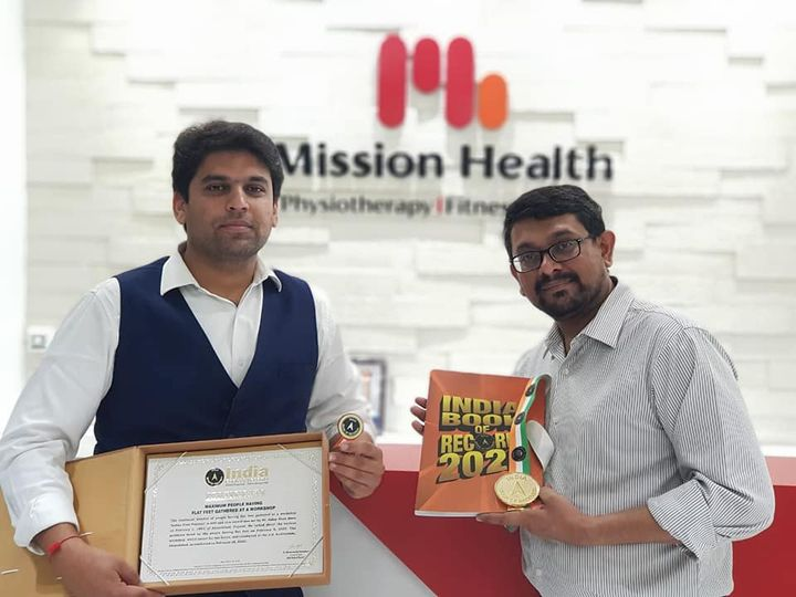 Dr. Alap Shah,  IndianFootFestival, IFF2020, IFF, Indiabookofrecords202, indiabookofrecords, FootClinic, footpain, footcare, foothealth, heelpain, anklepain, flatfeet, painrelief, healthyfeet, happyfeet, MissionHealth, MissionHealthIndia, MovementIsLife