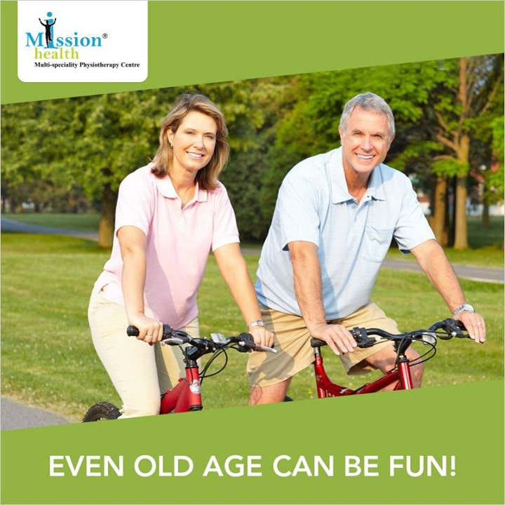 #MissionHealth India's 1stever Multi-Speciality Physiotherapy Centre and Medical Gym #GeriatricRehab #HealthyAging #ActiveAging #MovementIsLife