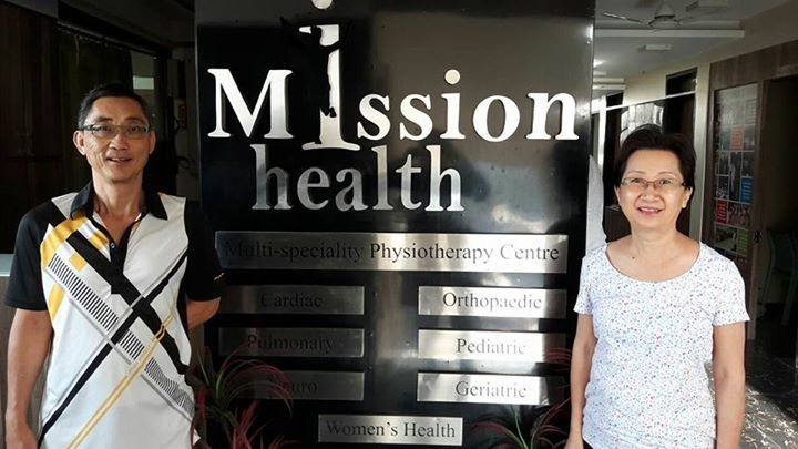 Chinese couple from Australlia # Physiotherapy taken @ MissionHealth Ahmedabad # Amazing improvement # Back to life with full energy and strength # We @ Mission Health super speciality spine clinic feel proud to share that - we have treated more than 12,000 spine problems from all parts of world with focused Physiotherapy treatment # Credit goes to wonderful team of Mission Health # Thanks to all patients for their trust on us #  www.missionhealth.co.in