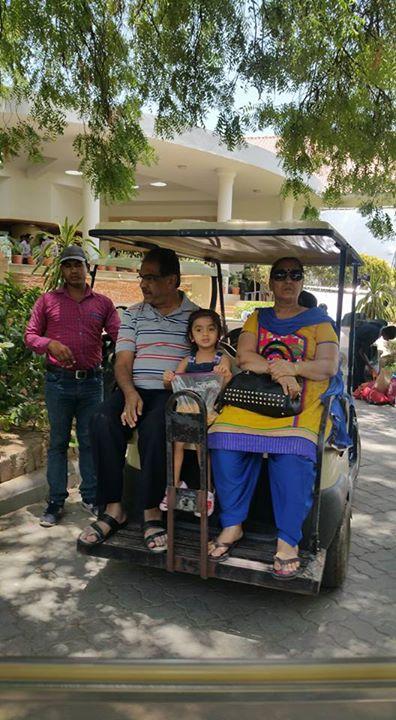 Fun, Family, Masti # Golf, Tennis, Swimming, Badminton # Green, water # Mid night in the golf course # Masala tea # Mango Festival # Awsome food # Just wow...