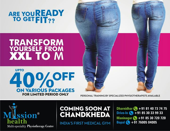 9th Anniversary celebration offers @  Mission Health Ahmedabad. Join the Transform programme today. Call on 8530339933.