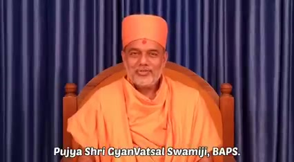I feel highly Obliged and Gratified on hearing these words of Motivation from Pujya Shri Gyanvatsal Swami Himself.  You are a true source of Positivity for millions including myself. I Sincerely pray to keep bestowing your blessings, as always.  Jay Swaminarayan.