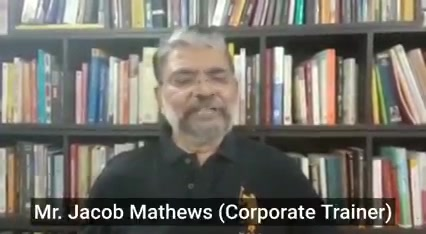 I sincerely appreciate the words of recognition from Jacob sir...  Mr. Jacob Mathews, a towering name in the field of Corporate Management, has worked with eminent personalities like Dr. Vikram Sarabhai, Dr. A. P. J. Abdul Kalam to name a few...