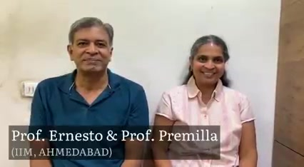 I am glad to hear words of encouragement from Prof. Premilla & Prof. Ernesto (IIM-A), highly recognizable name internationally in the field of Research in Management & thank both of them for showing trust on us since many years...