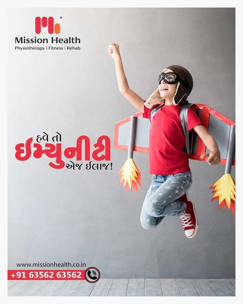 હવે તો ઇમ્યુનીટી એજ ઈલાજ!  વધુ માહિતી માટે વાંચતા રહો... Call +916356263562 www.missionhealth.co.in  #IndiaFightsCorona #Coronavirus #stayathome #lockdownopd #vokalforlocal #aatmnirbharbharat #immunity #immunitybooster #immunityboost #boostimmunity #ayurveda #homeopathy #nutrition #yoga #meditation #healthydiet #eathealthy #doyoga ##MissionHealth #MissionHealthIndia #AbilityClinic #MovementIsLife